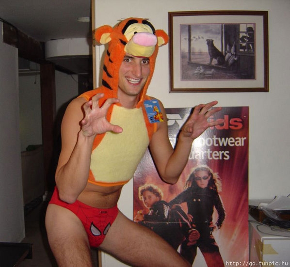 Scary Tigger Costume