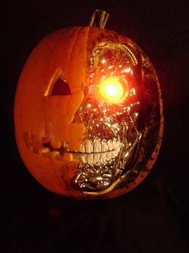 Terminator Pumpkin