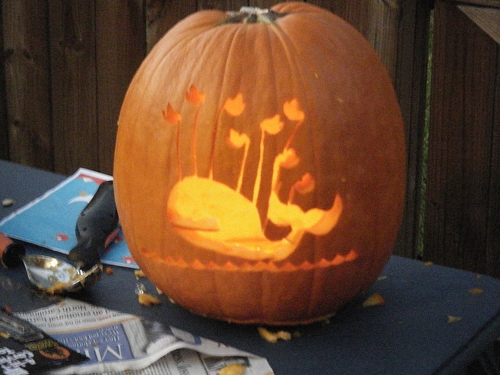 Fail Whale Pumpkin