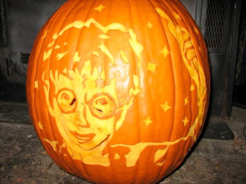 Harry Potter Pumpkin