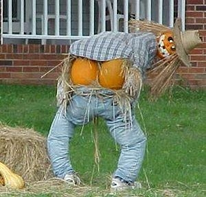Full moon scarecrow