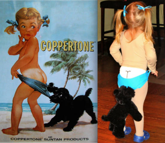 Coppertone Halloween Costume