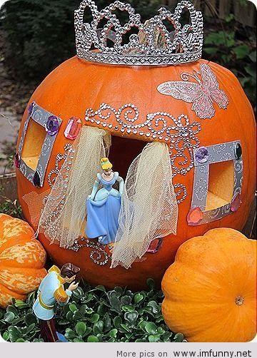 Cinderellas Pumpkin for Halloween