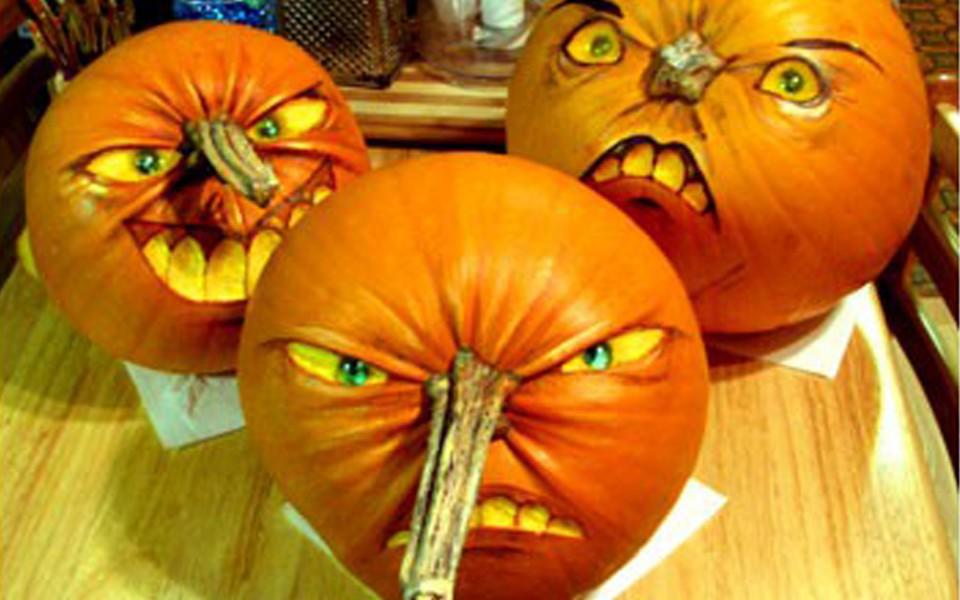 Pinokio Halloween Pumpkin