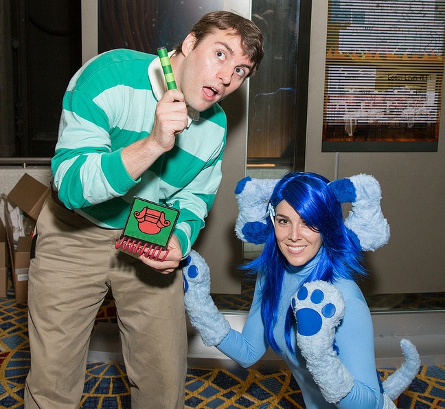 Cosplay Blues-Clues Costume