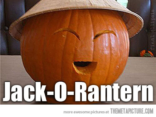 funny chinese pumpkin carving - Funny Halloween Pumpkin Carvings