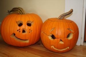 Pumpkin Flirting