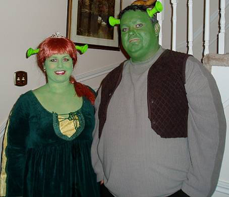 Shrek-Fiona Costume For Halloween
