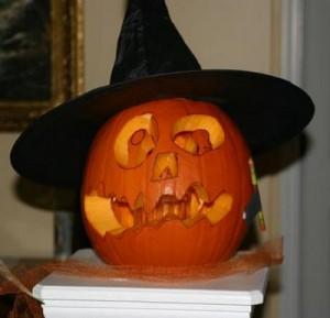 Witch Pumpkin Got Burned
