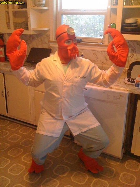 Funny Zoidberg Halloween Costume