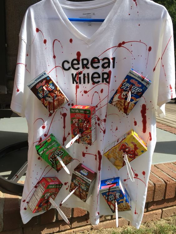 Cereal Killer Halloween Costume
